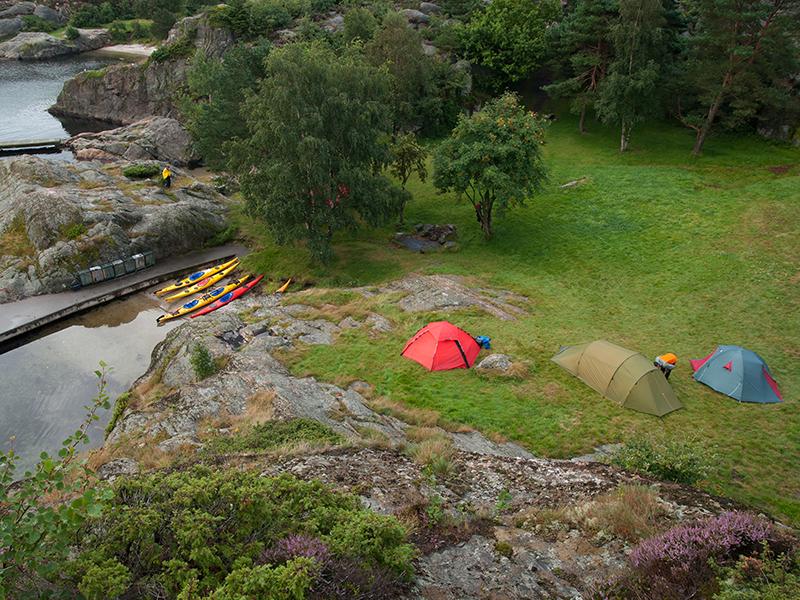 Med telt og kajakk langs Agderkysten | LarsVerket.Photography